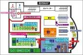 【店内MAP】用途に合わせてお席は色々!